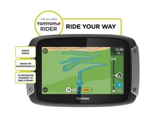 Nawigacja motocyklowa Rider 410 PREMIUM PACK GREAT RIDES EDITION